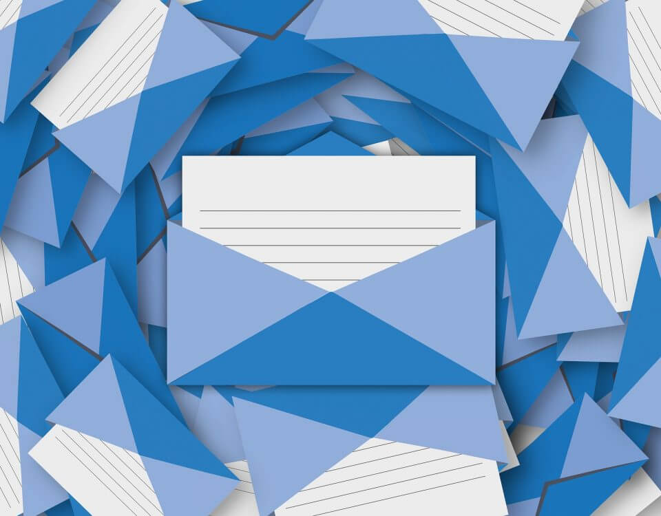 This is an outlook on email communication in business.